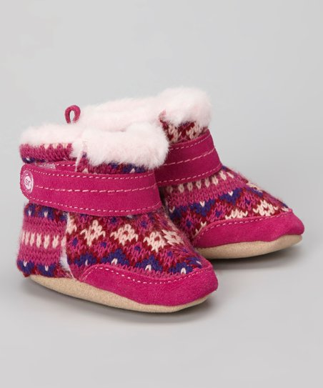 Pink & Purple Crib Sweet Snuggle Bootie