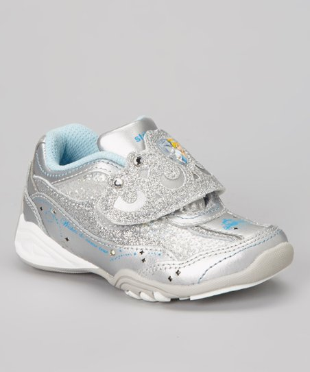 Silver Disney™ Wish Lights Cinderella Sneaker