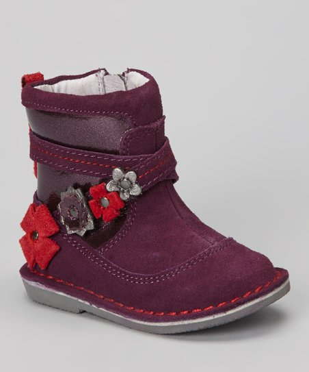 Purple Roslin Boot