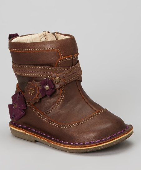 Mocha Medallion Roslin Boot
