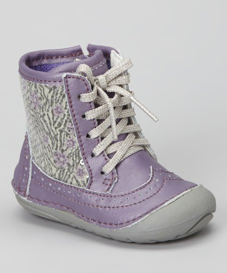 Purple Zebra SRT Byrn Boot