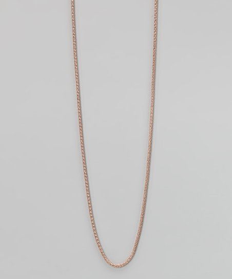 Rose Gold Stainless Steel Popcorn Chain