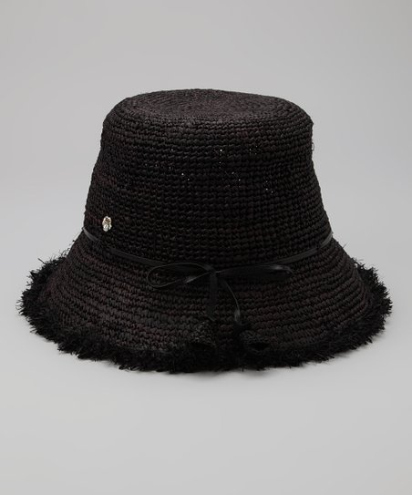 Black Ella Bucket Hat
