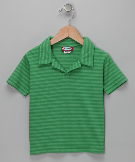 Elf Stripe Polo - Infant & Toddler
