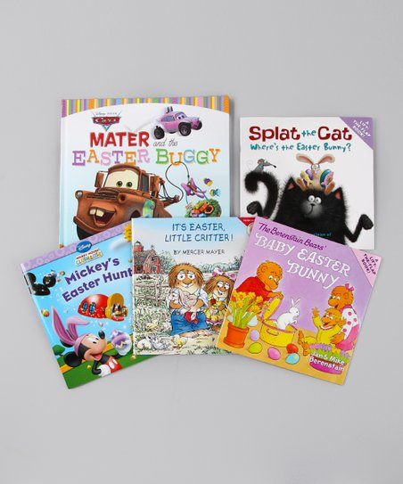 Boys' Favorite Characters Easter Book Set