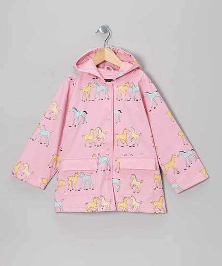 Pink Pony Raincoat - Infant, Toddler & Kids