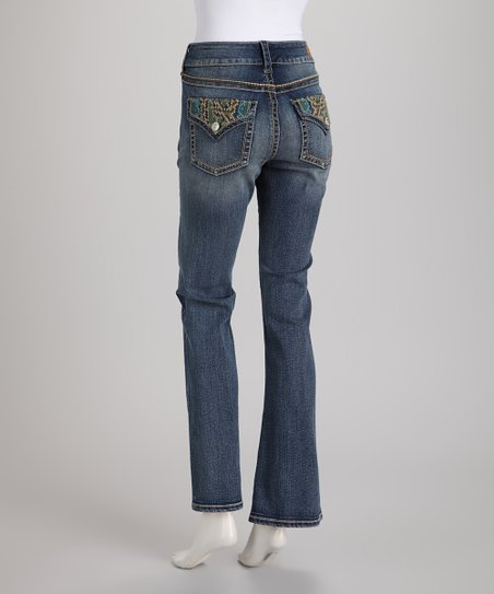 Blue Shepard Bootcut Jeans