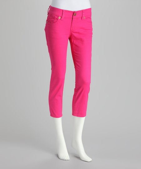 Flamingo Cropped Pants