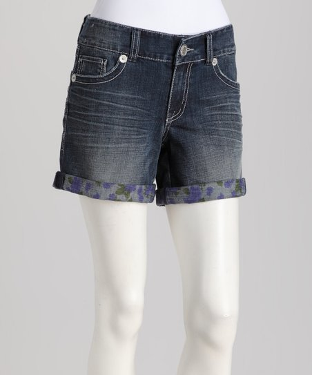 Blue Harper Denim Shorts