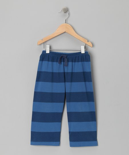 Navy Stripe Archie Pants - Toddler & Boys