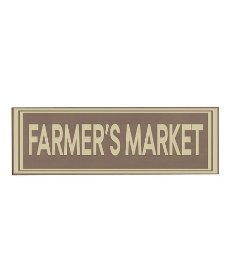 Sparrow & Cream Farmers Market Wall Art