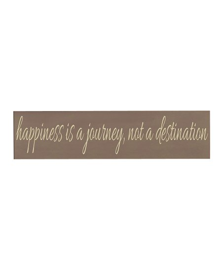 Sparrow & Cream 'Happiness' Wall Art