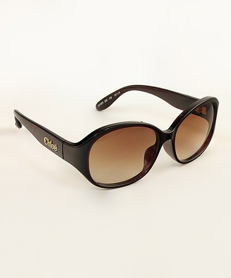 Brown 'Chloé' Sunglasses