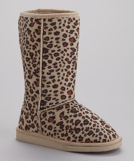 Leopard Betty Boot