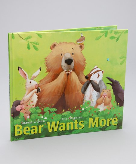 Bear Wants More Hardcover