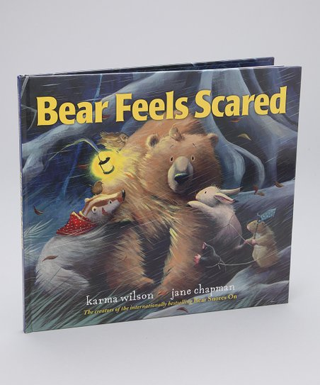 Bear Feels Scared Hardcover
