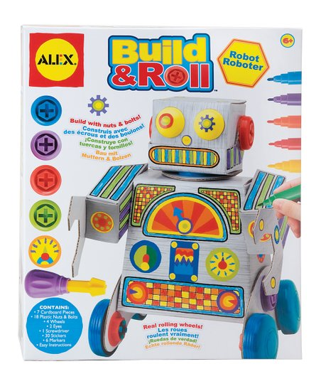Build &amp; Roll Robot
