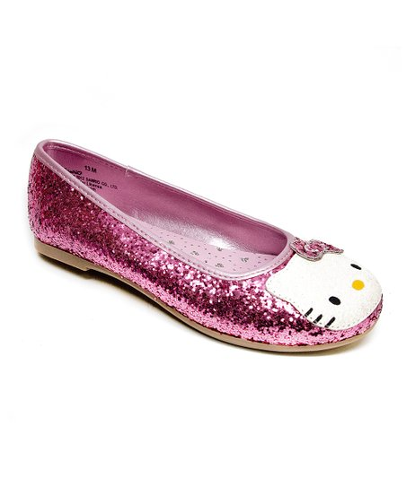 Pink Hello Kitty Leila Flat