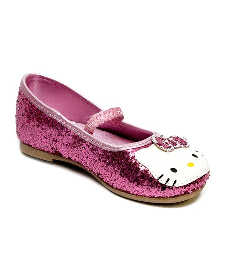 Pink Hello Kitty Lil Leila Flat