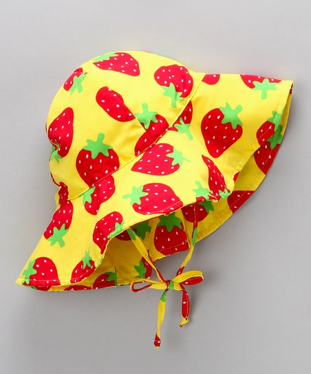 Yellow Berry Sunhat
