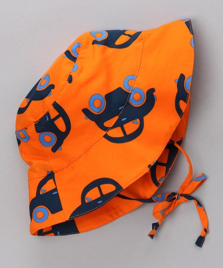 Orange Car Sunhat