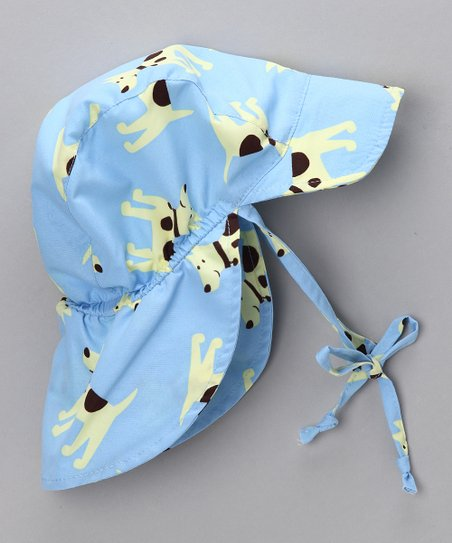 Blue Dog Desert Hat
