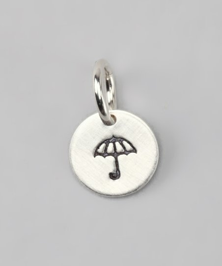 Sterling Silver Umbrella Charm