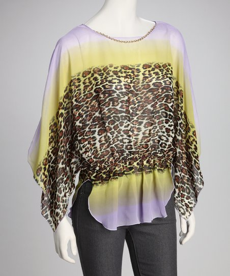 Purple & Yellow	Animal Top