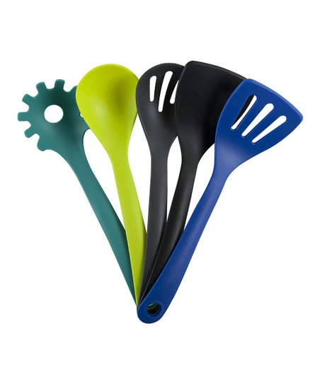 Cairo Five-Piece Snapping Utensil Set