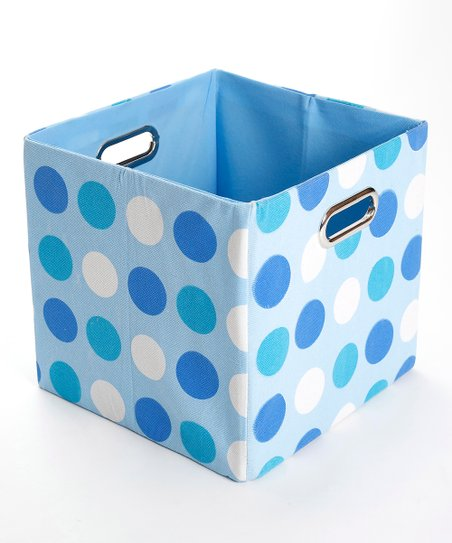 Sky Dots Folding Storage Bin