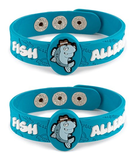 Fish Health Alert Bracelet - Set of Two