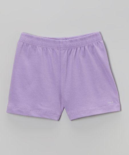 Lilac Rhinestone Undershorts - Toddler & Girls