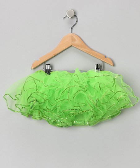 Apple Green Sequin Tutu