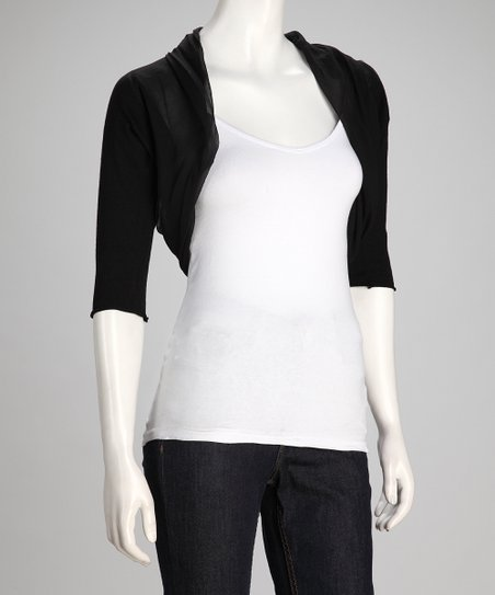 Black Bistro Shrug - Women