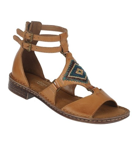 Camelot Reconnect Leather Gladiator Sandal