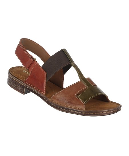 Banana Bread Ravanna Leather Sandal