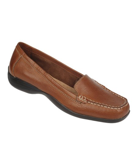 Banana Bread Century Vintage Calf Leather Loafer