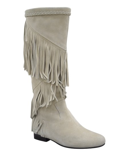 Bone Suede Shyann Boot