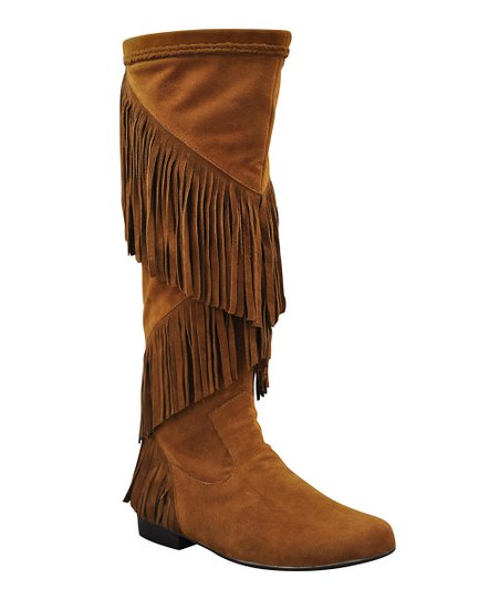 Tan Suede Shyann Boot