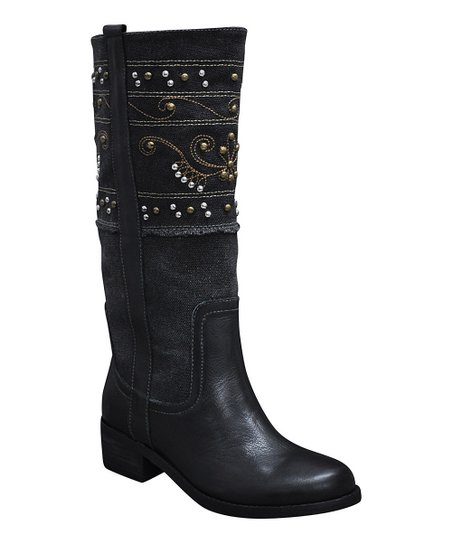 Black Collins Boot