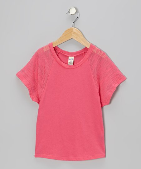 Watermelon Raglan Dolman Tee - Toddler & Girls