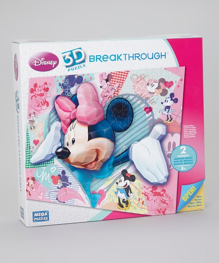Minnie Mouse 3-D Breakthrough Puzzle