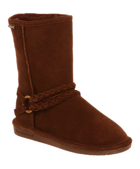 Hickory Suede Adele Boot - Women