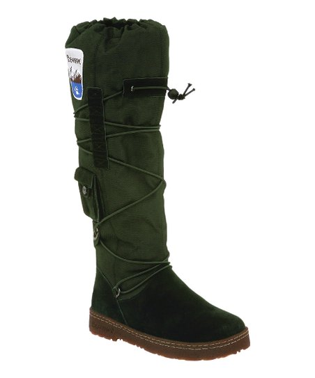 Evergreen Suede Boreal Boot - Women