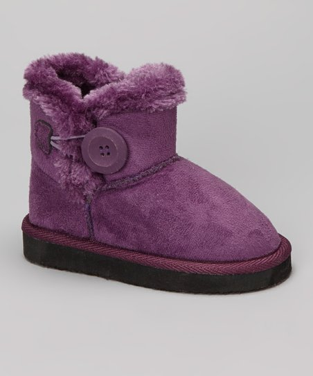 Purple Baulina Boot - Kids
