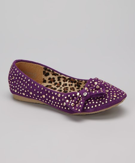 Purple Diamond Flat