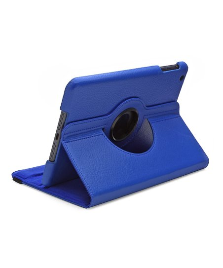 Blue Rotating Case for iPad mini