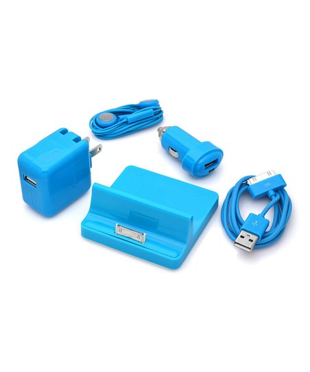 Blue Accessory Set for iPad/iPhone/iPod