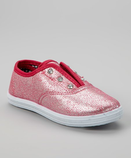 Fuchsia Hanging Slip-On Sneaker