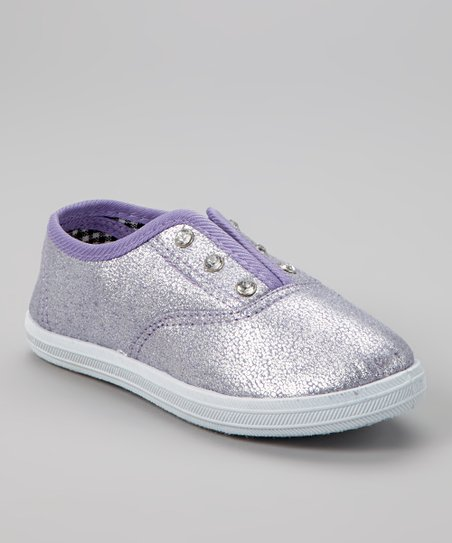 Purple Hanging Slip-On Sneaker